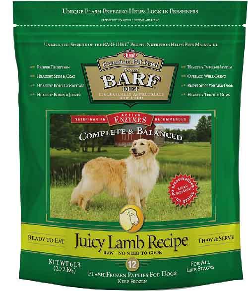 Barf World Juicy Lamb Patties
